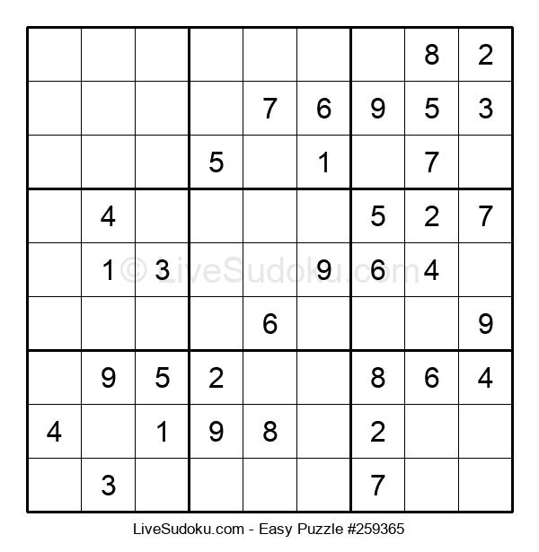 Beginners Puzzle #259365