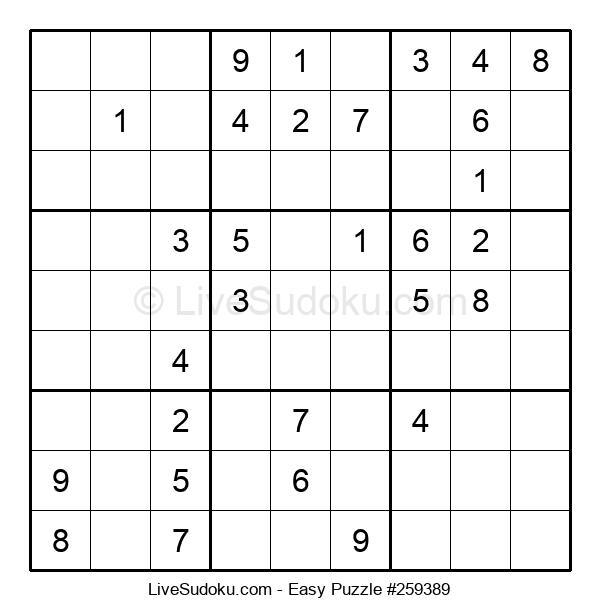 Beginners Puzzle #259389