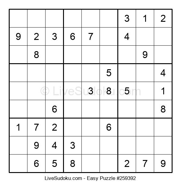 Beginners Puzzle #259392