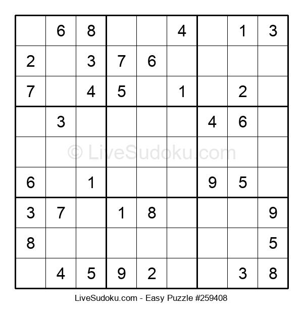 Beginners Puzzle #259408