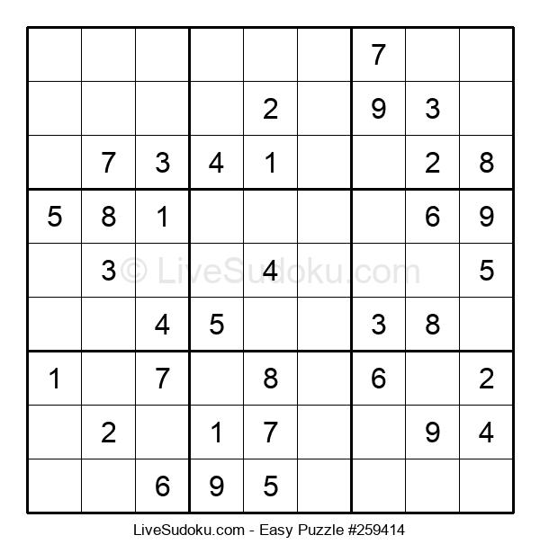 Beginners Puzzle #259414