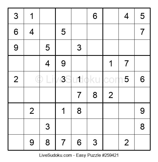 Beginners Puzzle #259421