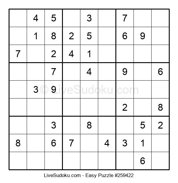 Beginners Puzzle #259422