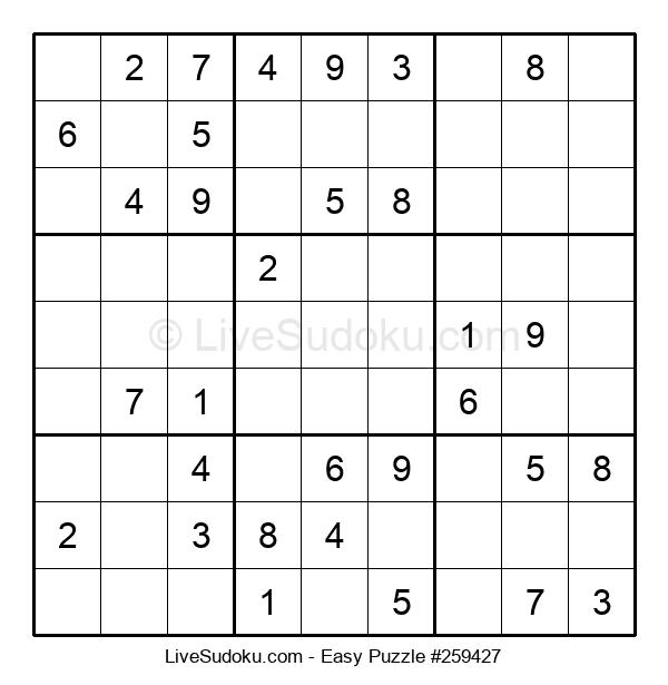 Beginners Puzzle #259427
