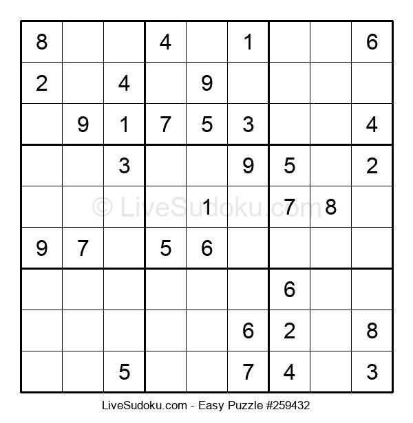 Beginners Puzzle #259432