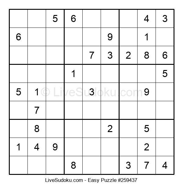 Beginners Puzzle #259437