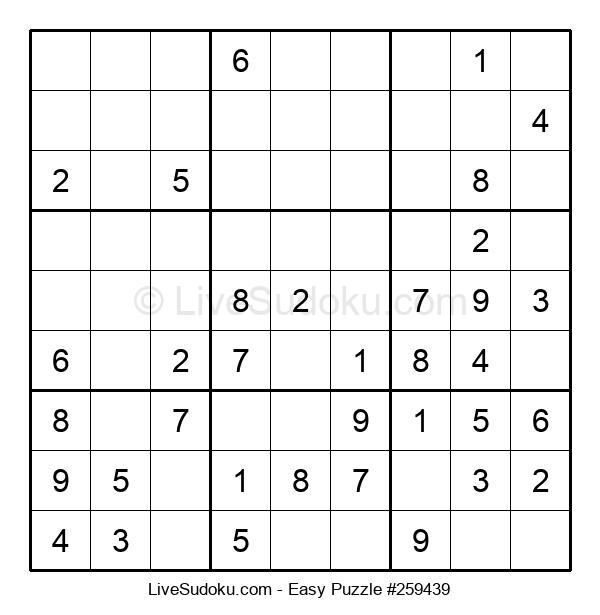 Beginners Puzzle #259439