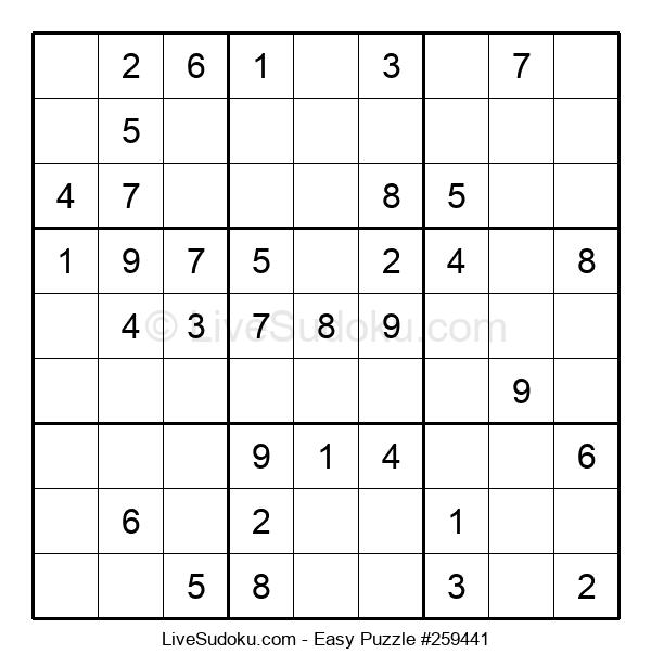 Beginners Puzzle #259441