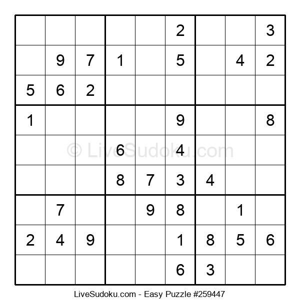 Beginners Puzzle #259447