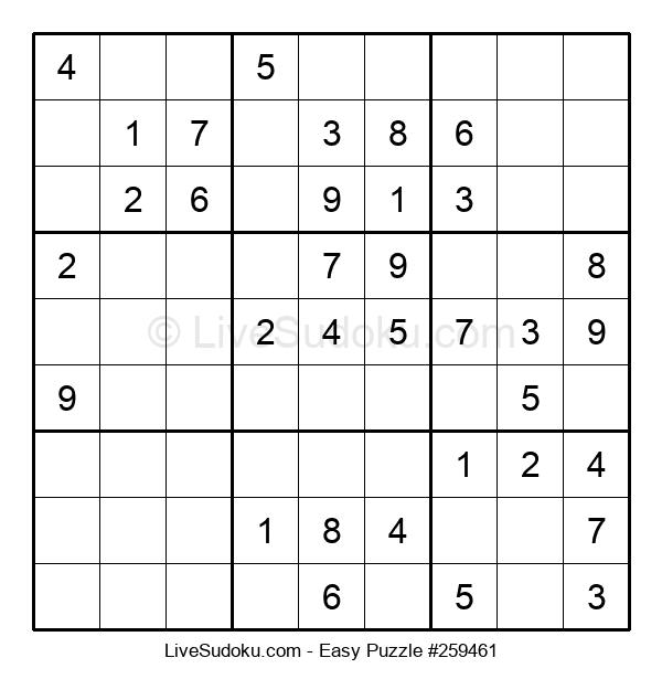Beginners Puzzle #259461