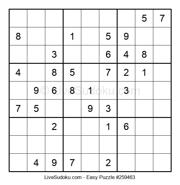 Beginners Puzzle #259463