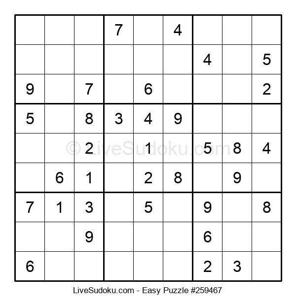 Beginners Puzzle #259467
