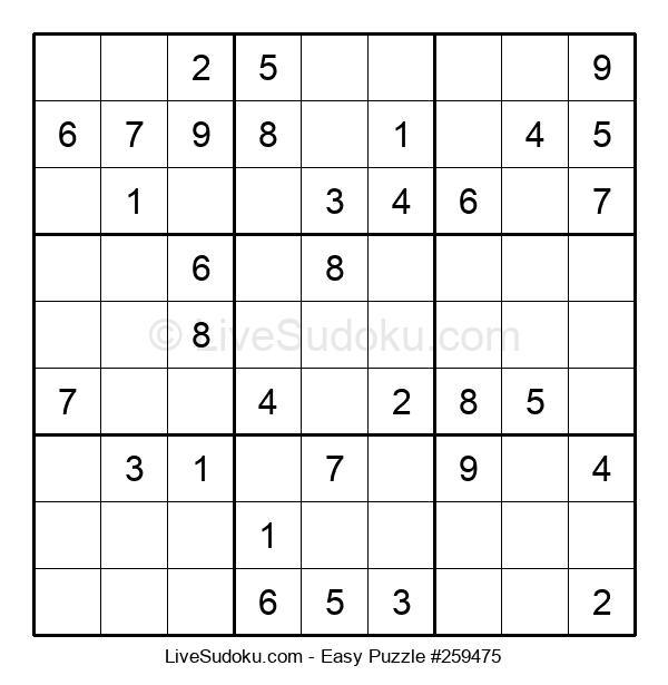 Beginners Puzzle #259475