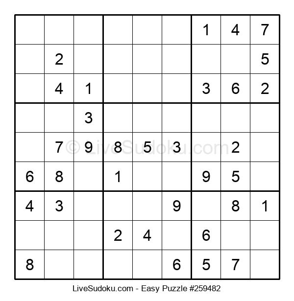 Beginners Puzzle #259482