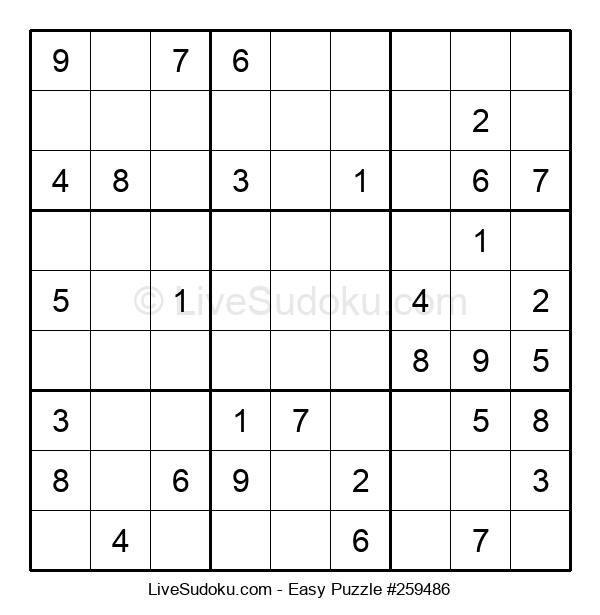 Beginners Puzzle #259486