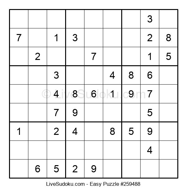 Beginners Puzzle #259488