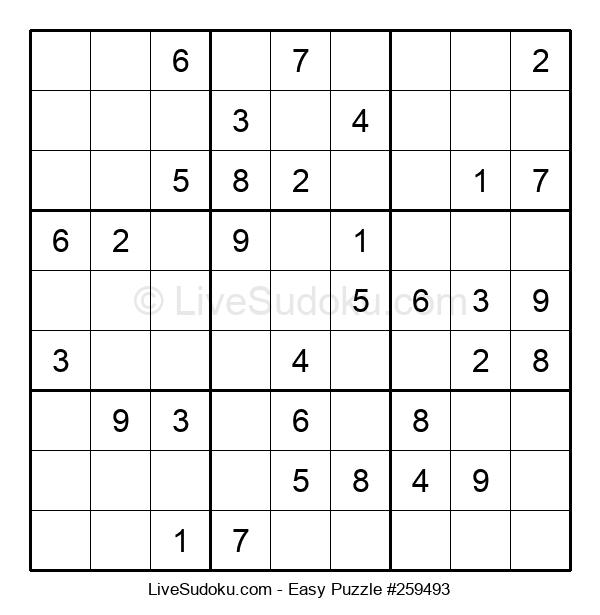 Beginners Puzzle #259493
