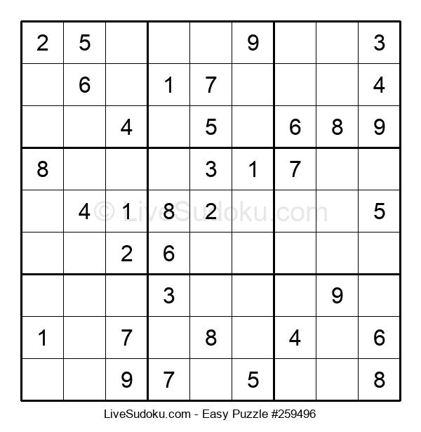 Beginners Puzzle #259496