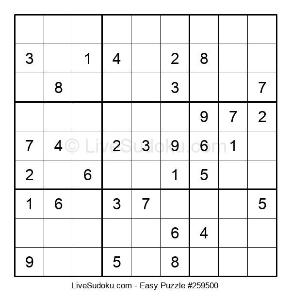 Beginners Puzzle #259500