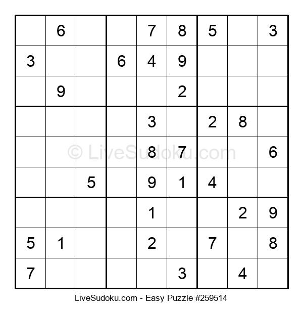 Beginners Puzzle #259514