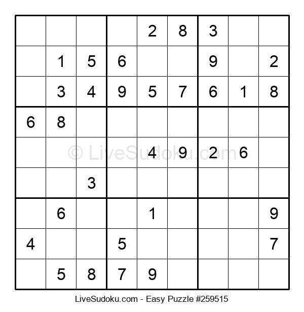 Beginners Puzzle #259515