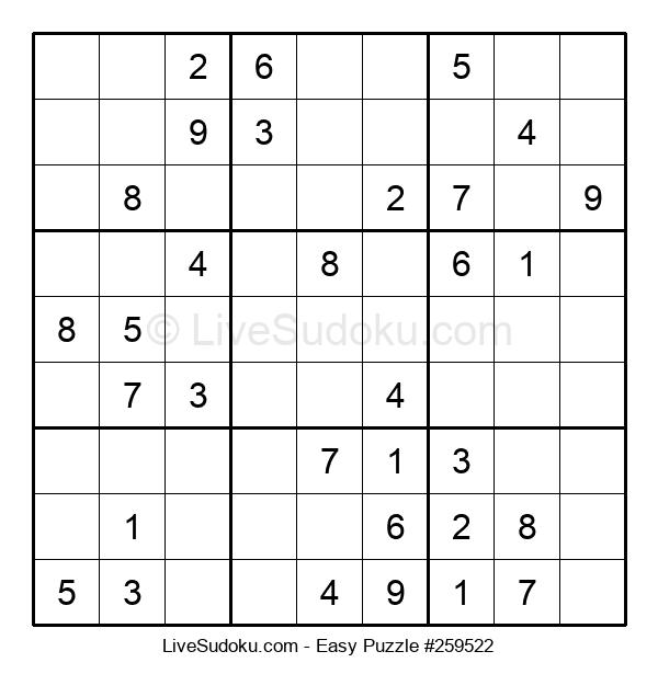 Beginners Puzzle #259522