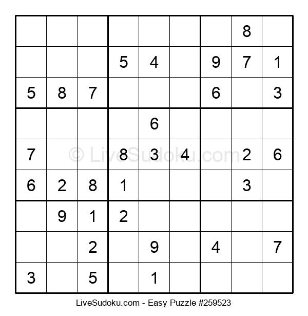 Beginners Puzzle #259523