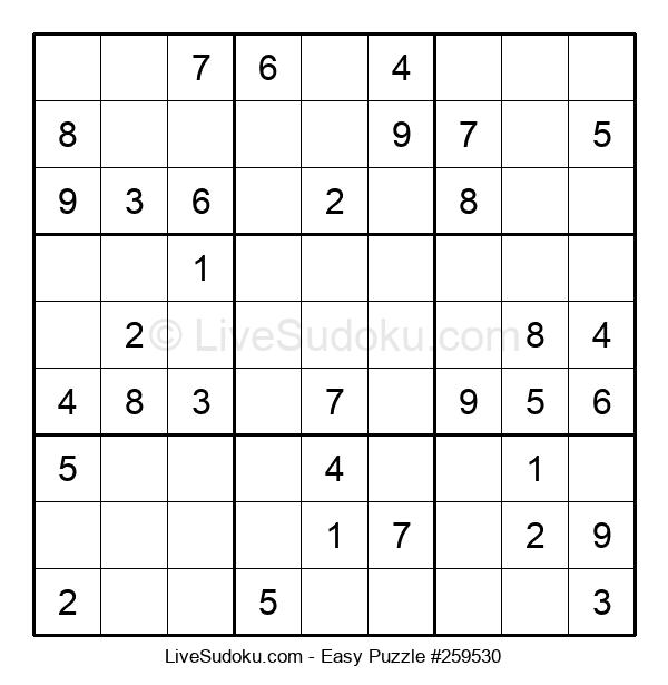 Beginners Puzzle #259530