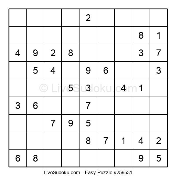 Beginners Puzzle #259531