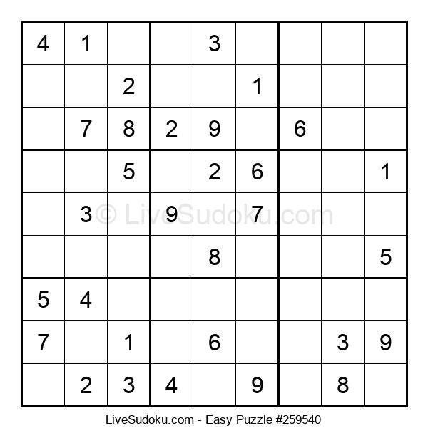 Beginners Puzzle #259540
