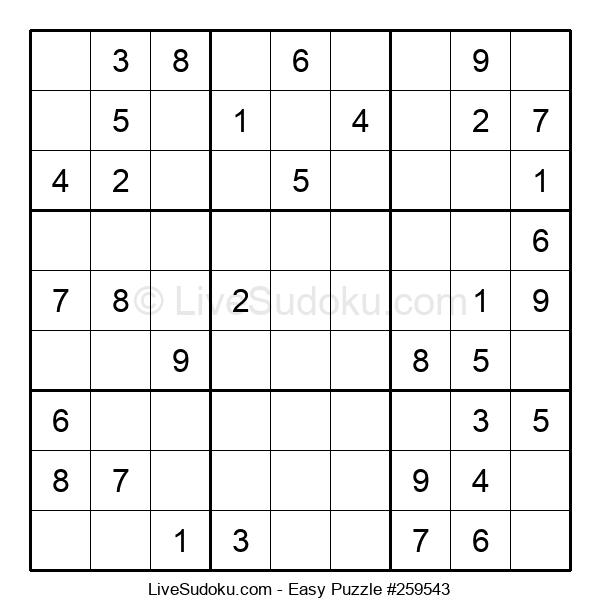 Beginners Puzzle #259543