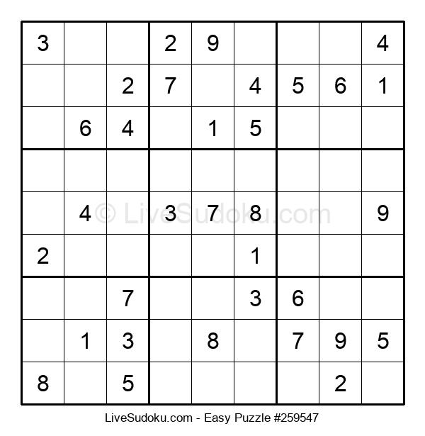 Beginners Puzzle #259547