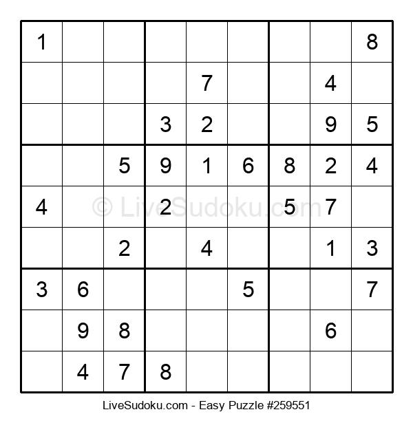 Beginners Puzzle #259551