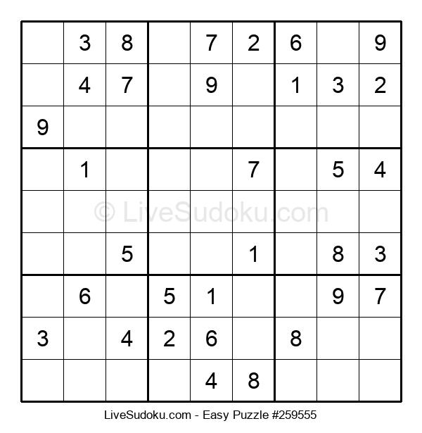 Beginners Puzzle #259555
