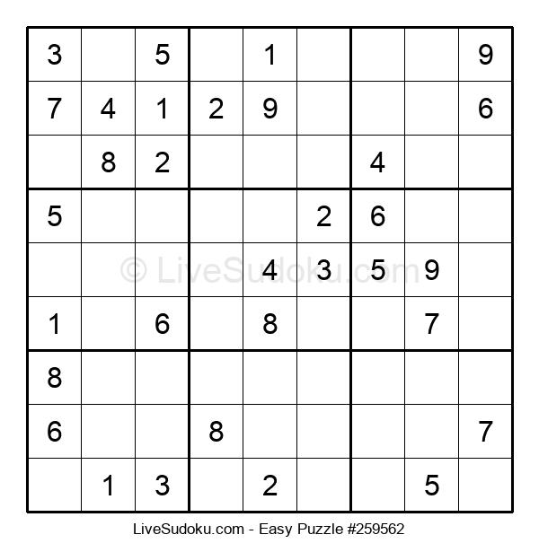 Beginners Puzzle #259562