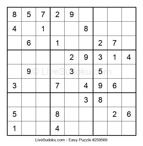 Beginners Puzzle #259569