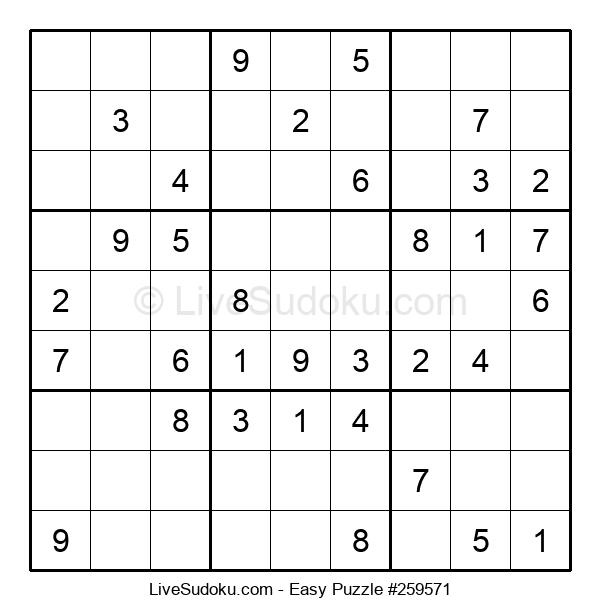 Beginners Puzzle #259571