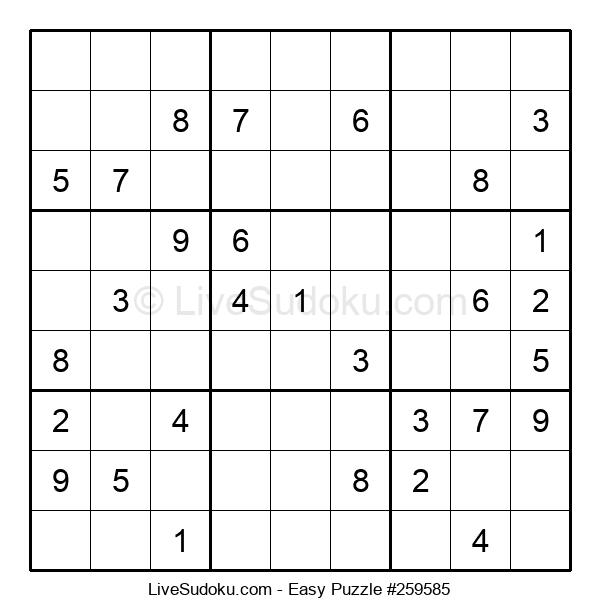 Beginners Puzzle #259585