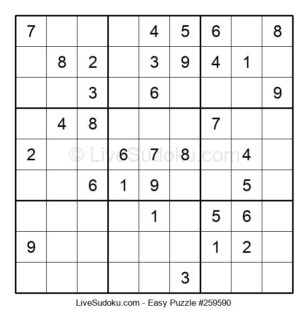 Beginners Puzzle #259590
