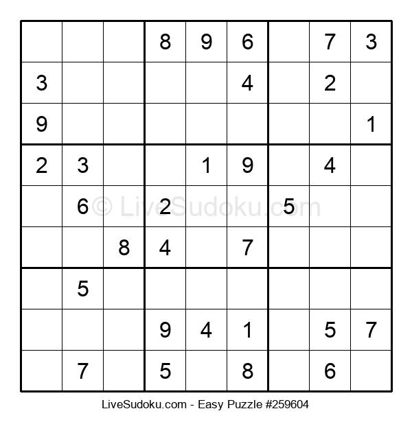 Beginners Puzzle #259604