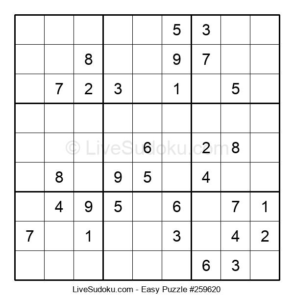 Beginners Puzzle #259620