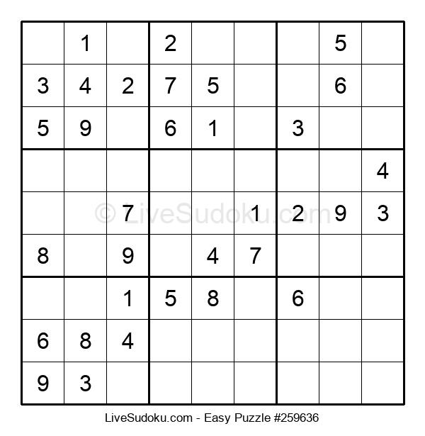Beginners Puzzle #259636