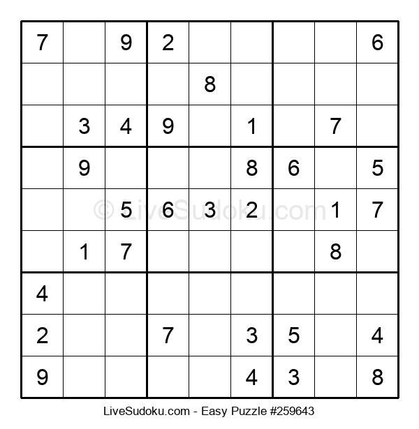 Beginners Puzzle #259643