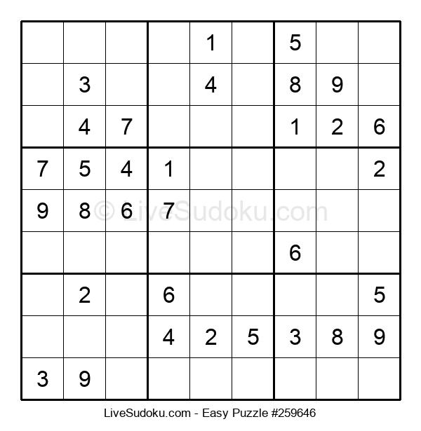 Beginners Puzzle #259646