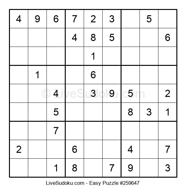 Beginners Puzzle #259647