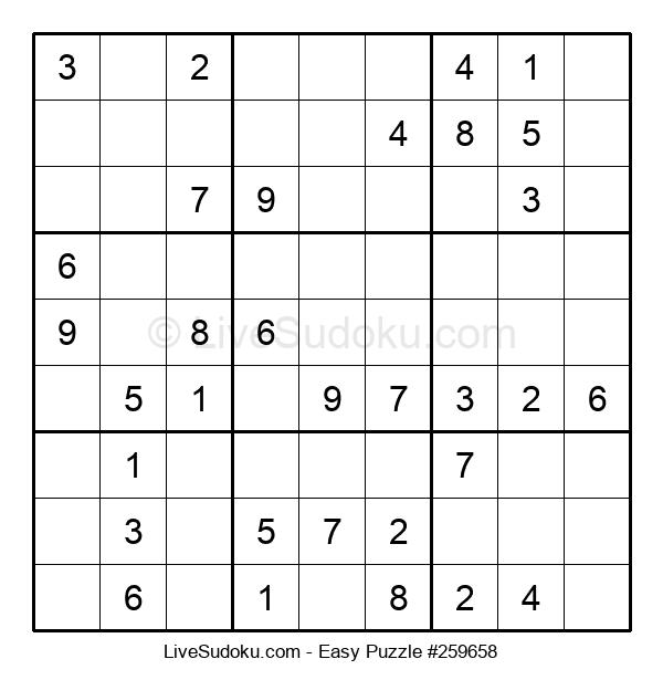Beginners Puzzle #259658