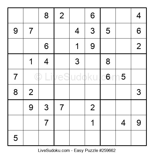 Beginners Puzzle #259662