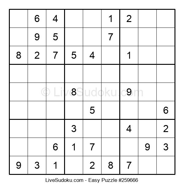 Beginners Puzzle #259666