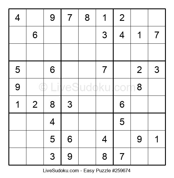 Beginners Puzzle #259674