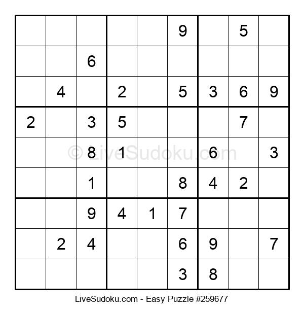 Beginners Puzzle #259677